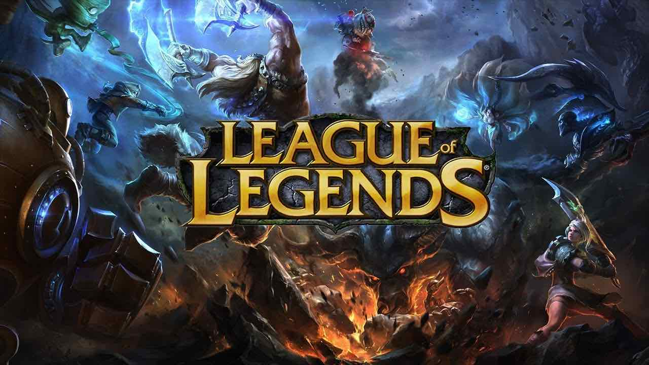 copertina league of legends: gioco multiplayer online