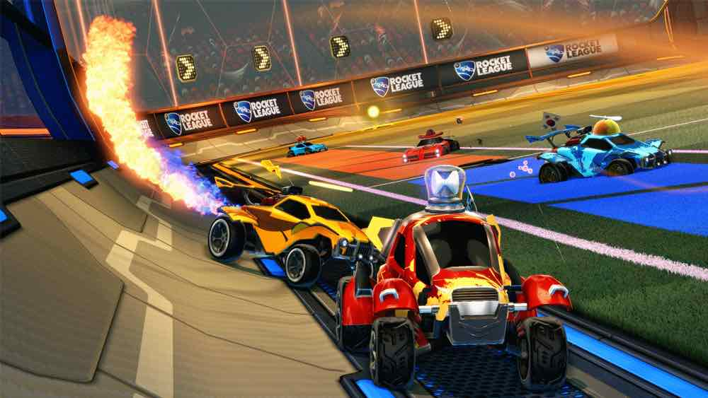 videogiochi in cooperativa rocket league